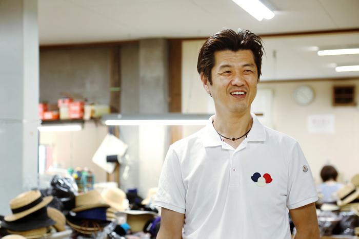 5代目代表の田中英雄さん。そこにいるだけで工房の空気がからっと明るくなるような、快活なお人柄でした