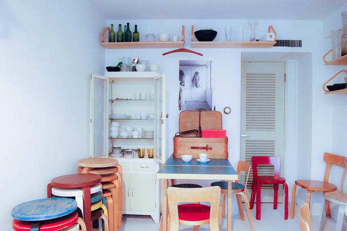 時の経過を慈しむ。大きな倉庫で見つける「talo」の北欧ビンテージ家具