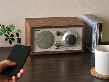 Tivoliのオーディオの中でも人気ナンバー1のテーブルラジオ、「Model One」。そのModel Oneは2014年、Bluetooth対応になりました。