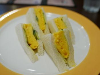 ふわふわの卵とキュウリが相性良し! この一皿で元気いっぱいの一日が過ごせそうですよね。