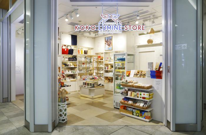 今年の4月にはJR新宿駅ニュウマンのエキナカにKOKOLUMINEのリアルストア「ココルミネストア」がオープン。店内には雑貨や食品から伝統工芸品まで「日本のいいもの」と出会うことができ、ユーザーと作り手・産地との繋がりを提案しています。急にちょっとしたギフトが必要になったときにも、ここに来れば良いものが見つかりそう♪