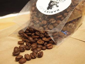 もう一つのロブスタブレンドはしっかりしたコクと深みのある味が特徴。東京の「THE COFFEE HANGAR」オリジナルブレンド。
