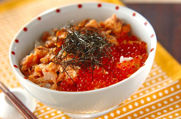 味噌漬けされている鮭は、お弁当のおかずとしても活躍しますね◎おにぎりの具や、お茶漬けにのせてもおいしそう♪