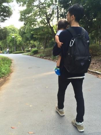 パパはBuddy、ママはMetroを背負って、家族で公園をお散歩・・・なんていうのも素敵です*