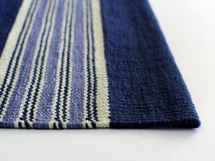 インドのニューデリーで誕生したブランド「INDIA FLAG」。インディゴ染めによる美しいブルーが印象的。