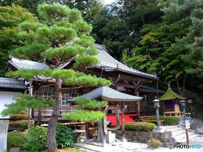 温泉街からひときわ小高い丘に建立する温泉寺は、1000年の歴史を持つ下呂温泉にまつわる白鷺伝説(※)の舞台となった場所です。静かな境内からは、温泉街を一望することができ、眺望スポットとしても人気があります。