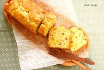 朝食にもおすすめ!ずっしり食べごたえのあるパウンドケーキはホットミルクやココアとの相性も◎
