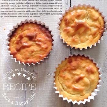 材料を混ぜて焼くだけの簡単オシャレなレシピ。生クリームの代わりにクリームチーズを加えてちょっとリッチなスイートポテトが完成!