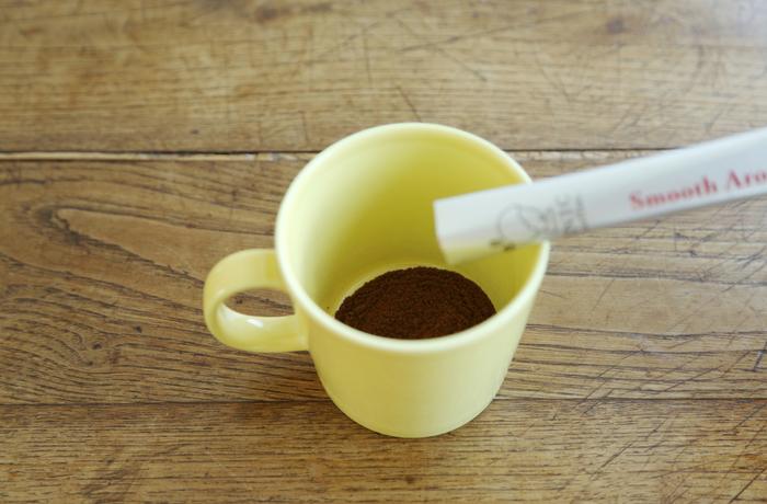 今までのインスタントコーヒーにあった、不要な濁り・雑味・えぐみを無くし、豆の魅力を最大限に生かすため、最適な抽出温度と抽出時間を設定し、ハンドドリップで淹れたコーヒーの美味しさを表現することに成功しました。
