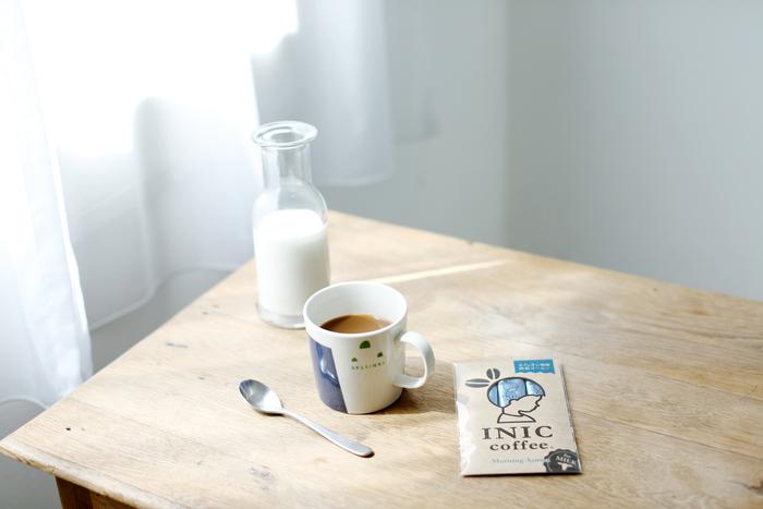 """【Morning Aroma】 カフェオレ専用の「モーニングアロマ」。ふわりと広がるミルクの旨味と香り高いコーヒーのアロマ。この2つが絶妙に調和して濃厚で上質なとろける甘い余韻を感じる事ができます。まさに""""極上のカフェオレ""""。"""