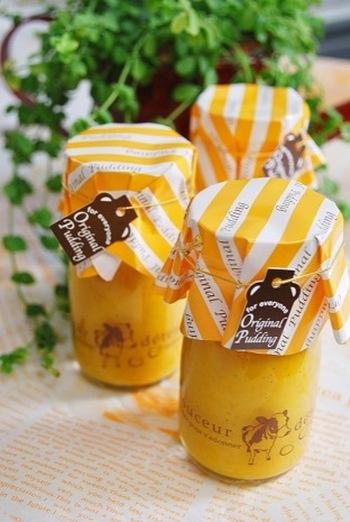 豆乳を使っていますので、とてもヘルシーで優しい味わいのプリンです!簡単にできますし、前日に作っておけば、パーティなどの当日もあわてませんね。プレゼントにも喜ばれます。