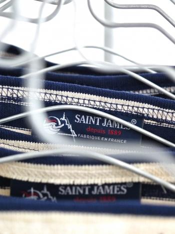 1889年に創設されたブランド「SAINT JAMES(セントジェームス)」。高品質のバスクシャツは、かのパブロ・ピカソも愛用したのだとか。