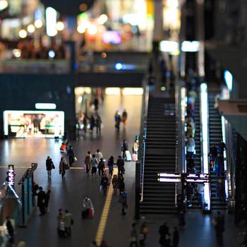 JR西日本・JR東海・近鉄京都線・市営地下鉄烏丸線が乗り入れる「京都駅」。一日当たり67万人もの人々が乗降し、終日多くの人々が広い構内を行き来します。  帰途を急ぎ、人混みに押されるままに、この駅を素通りしていませんか?