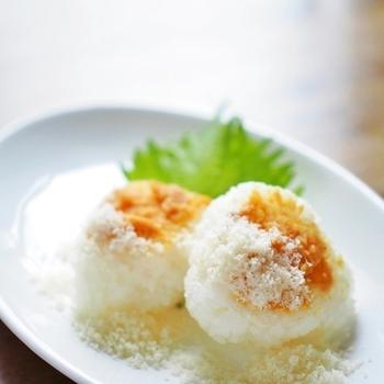 味噌とパルミジャーノの意外な組み合わせですが、発酵食品同士なので意外と相性抜群なんですよ。