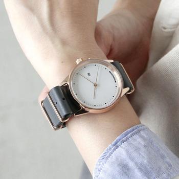 c789ccfe6a 秋冬の装いにプラス。オンでもオフでも使いたい【レザーベルト腕時計】6 ...