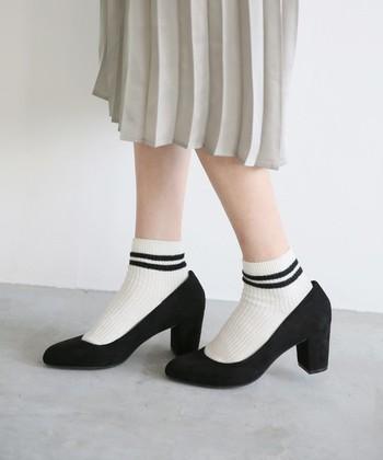 どんなにかわいい靴だって、履きやすくなければお気に入りには入りません。ヒールなのに履きやすく、スタイルアップも叶う魔法のアイテム。それが「太ヒール」なんです!