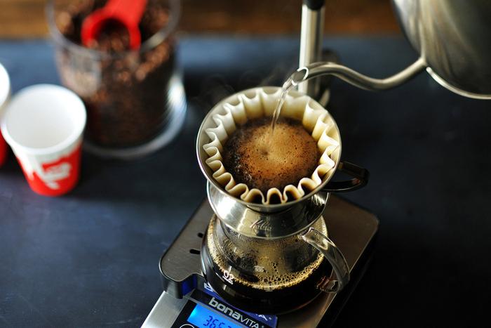 「ゴリラ」のイメージのガツンとくるコーヒーは、ハンドドリップで淹れています!コーヒーにエスプレッソを加えたブルックリンの人気メニュー「レッドアイ」も一度試す価値有りですね。