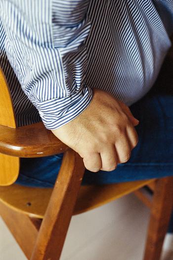 とにかく座り心地の良いドムス チェア。「買わないかもしれないし、あんまり堂々と触ったりしにくいな…」なんて思わずに、気軽に見て、座って欲しい!是非この機会に体験してみましょう♪