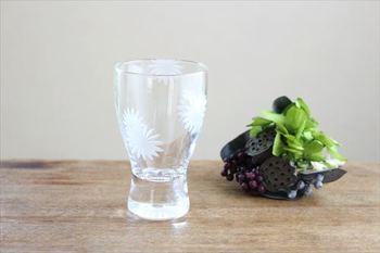 リキュールグラスもあります。小さな花器としてもおすすめ。