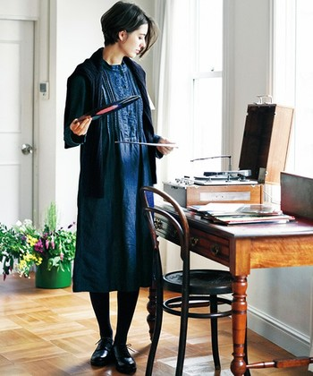 ワンピースって女性らしいアイテムで着るだけでワクワクしますよね。普段はあまりスカートを履かないという人も、ワンピースなら気軽にチャレンジできるのではないでしょうか? 1までも重ね着でもいろいろ楽しめるアイテムなので、ぜひいつもと一味違ったコーデを楽しんでみてくださいね!