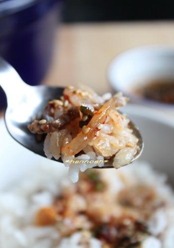 韓国からもう一品。こちらは牛肉と大根の炊きこみご飯です。たっっぷりの大根を入れるので、水加減は少なめで炊くのがコツ。胃腸にも優しい炊きこみご飯なので、少し寒気がきたときなんかにも良いのだそうです!