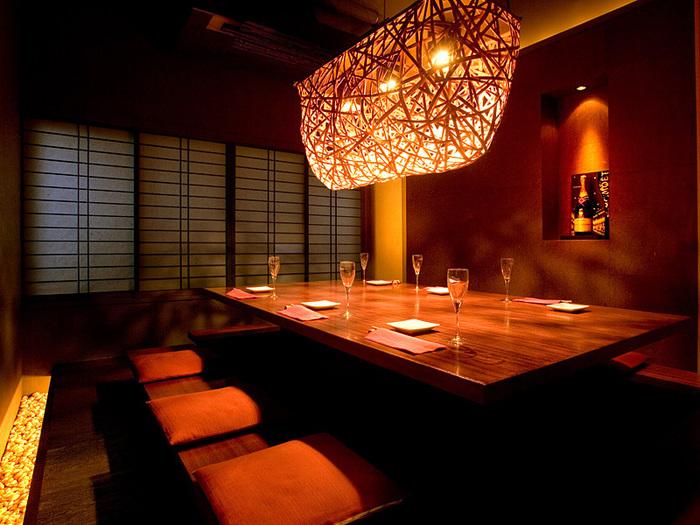 らんまんは、個室も完備されています。ゆったりと過ごしながら食事をしたいという方は、個室を予約しておくことをおすすめします。