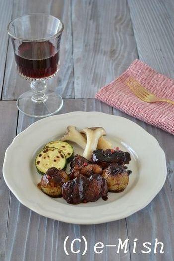 おもてなし鶏肉料理なら、バルサミコ煮込みはいかがでしょうか?難しそうに見えて実はカンタン♪な楽ちんレシピです。