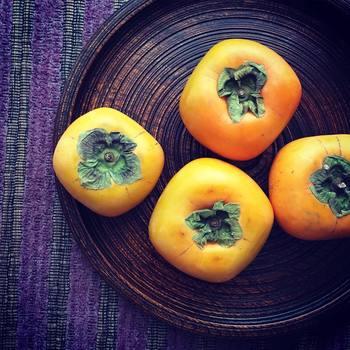 美味しくて栄養たっぷりの柿は、そのまま食べても、調理しても◎ 旬の季節にぜひいろんな食べ方を楽しんでみてください。