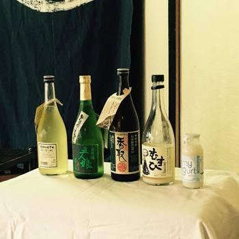 寺田本家のつくるオーガニックにこだわったお酒は、とても人気があります。