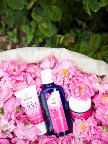 天然のエッセンシャルオイルから作られた「WELEDA」の香水は、ナチュラルな香りが魅力。「ヒッポファン」「ざくろ」「ローズ」の3種類あるので、気分によって使い分けるのもいいですね。