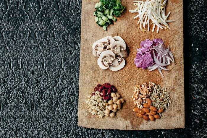 食材へのこだわりは切り方にも。一つ一つの食材の持ち味を最大限に引き出す切り方で、食感や香り、視覚を刺激してくれます。