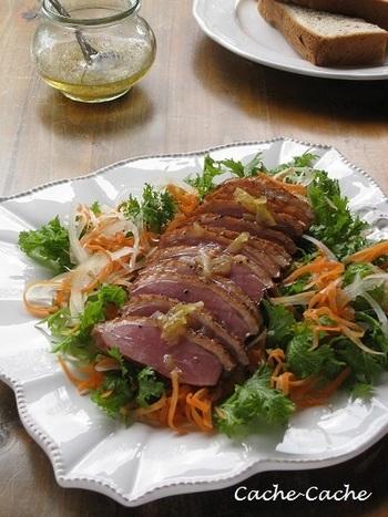 お肉やお魚が爽やかに味わえるゆずジャムドレッシングもおススメです。