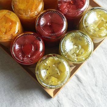 季節の自家製ジャムのご紹介はいかがでしたでしょうか。季節の旬の果物をつかって美味しいジャム作りを楽しんでみて下さいね。