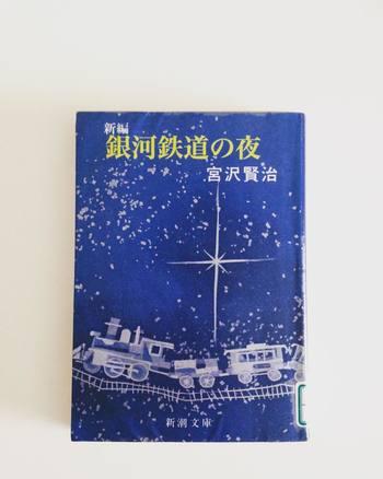 孤独な少年が銀河を鉄道に乗って旅するという童話作品。幻想的な世界観が魅力的です。