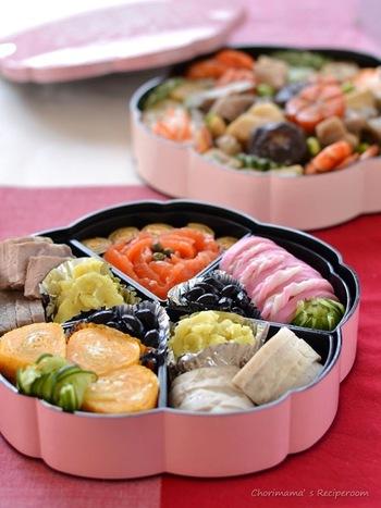 おせち料理やオードブル、パーティーにも塩豚はぴったり♪魚介類が苦手な方も嬉しいメニューです。