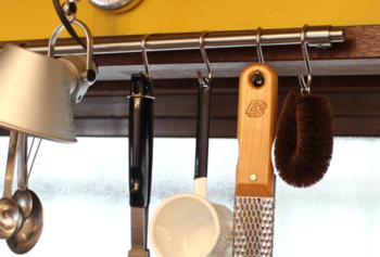 職人歴47年の職人が作る高品質の棕櫚たわし。台所用でも用途に合わせて形状が異なり、使い分けができて便利です。