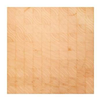 「コグチ」は木材の端の面を集めて作ったタイル。木材の使う方向が変わることで、木目だって違うものになります。また違った木材の魅力が発見できる一枚です。