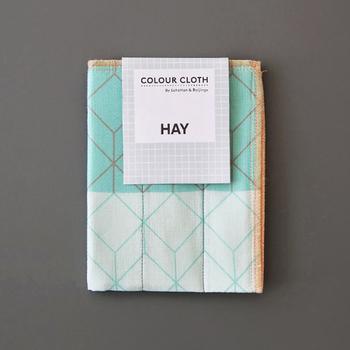 デンマーク産まれのインテリアブランド「HAY」(ヘイ)のポップなキッチンクロスは、贈っても貰っても嬉しいアイテムです。