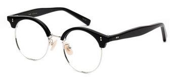 【ANNA/アンナ】 丸メガネをかけて、表情をくるくる変えるアンナ・カリーナがたまらなく可愛い映画「ANNA」。そんな彼女をイメージしたメガネは、パリジェンヌらしいコケットな魅力を引き出してくれそう。