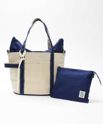 バゲット・本・衣類・新聞を入れるために考えられたバッグを制作する日本のブランド、TEMBEA(テンベア)と、こどもビームスがコラボレーションして作ったマザートート。赤ちゃんとのおでかけに使いやすいディテールが満載の、快適なおしゃれバッグです。