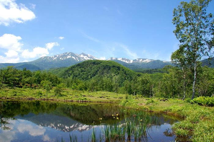 乗鞍高原を代表する景勝地、一ノ瀬園地はよく整備された散策道があり、気軽にハイキングを楽しむことができる場所として人気があります。