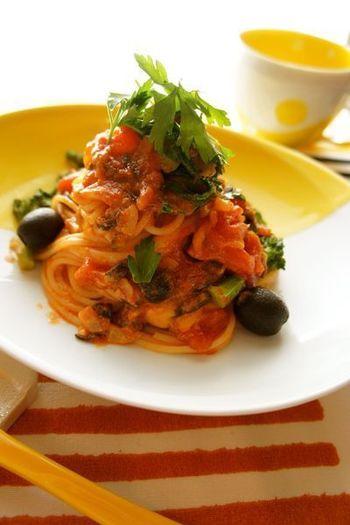こちらは、菜の花やチーズを加えたレシピ。菜の花のほのかな苦みやチーズの濃厚さがプラスされて、また違った味わいを楽しめそうです。