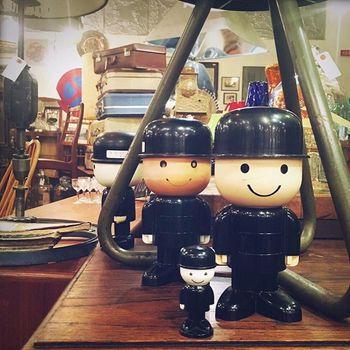 イギリスのホームプライド社のキャラクター「フレッド君」。プレミアが付いて売られているようなものも有るそうです。 コレクターの方はお宝発見できるかも♪