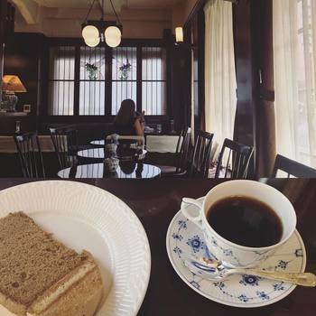 ふんわりとしたコーヒーシフォンも人気。コーヒーとの相性も◎。