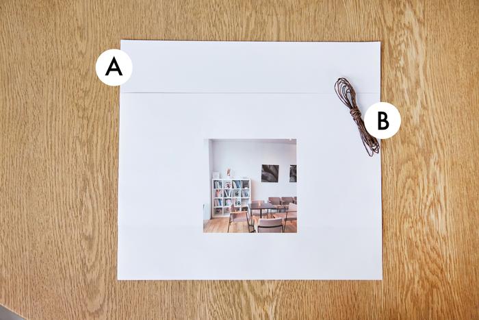 A.普通紙(A4) B.細めのペーパーリボン