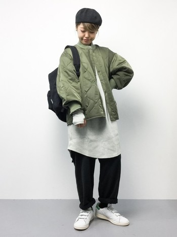 今回はこれからの季節のコーディネートの参考になるような、シンプルスタイルのアクセントにもなるライナージャケット&コートの着こなしをご紹介します!