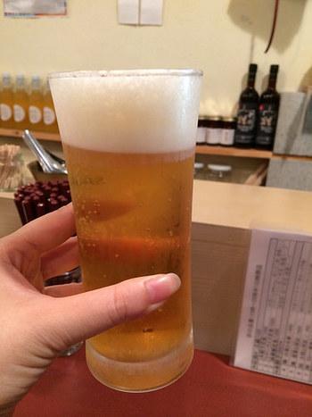 餃子にはやっぱりビール♪代々木上原でヘルシーな餃子を食べたくなったら按田餃子を訪れてみてはいかがですか?