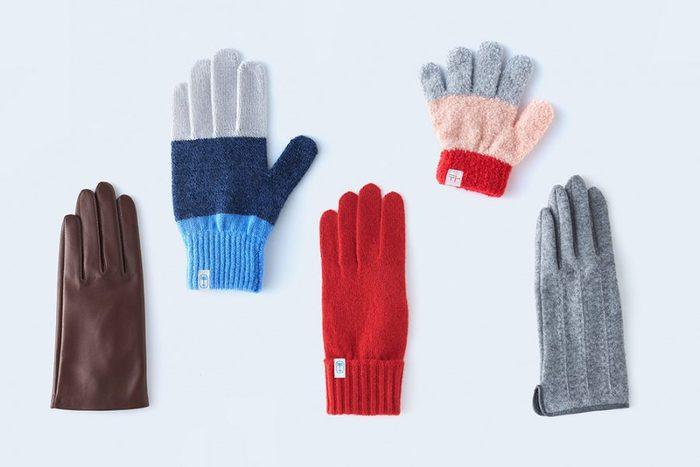 様々な色、カタチ。手仕事の温もりを感じる【tet.(テト)】の手袋