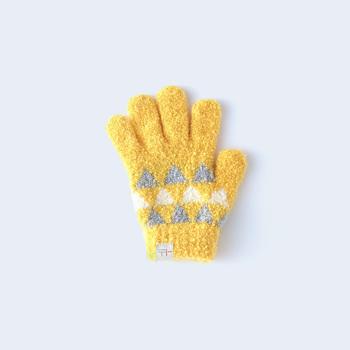 シュークリームやマシュマロと呼ばれる、フワフワで肌触りが良い素材で作られている手袋は、まだ皮膚が薄い子どもにピッタリ。