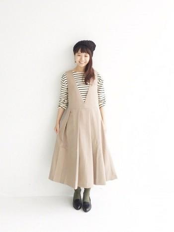 今年の冬はぜひジャンパースカートのコーディネートをたくさん作って楽しんでみてくださいね♪